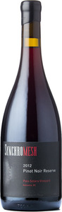 Synchromesh Wines Pinot Noir Reserve Palo Solara Vineyard 2012, Okanagan Valley Bottle