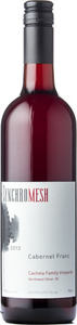 Synchromesh Wines Cabernet Franc Cachola Family Vineyards 2013, Okanagan Valley Bottle