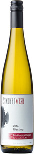 Synchromesh Wines Riesling Bob Hancock Vineyard 2014, Okanagan Valley Bottle