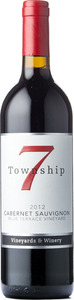Township 7 Cabernet Sauvignon Blue Terrace Vineyard 2012, Okanagan Valley Bottle