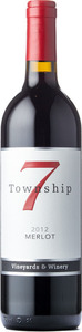 Township 7 Merlot 2012, BC VQA Fraser Valley Bottle