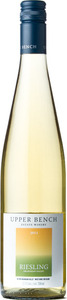 Upper Bench Riesling 2013, BC VQA Okanagan Valley Bottle