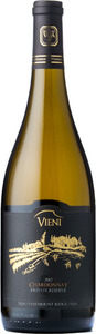 Vieni Chardonnay Private Reserve 2012, Vinemount Ridge Bottle