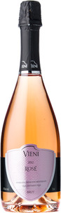 Vieni Estates Rose Brut 2012, Vinemount Ridge Bottle
