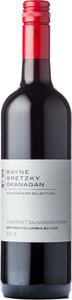 Wayne Gretzky Okanagan Cabernet Sauvignon Syrah 2013, BC VQA Okanagan Valley Bottle