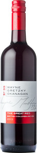 Wayne Gretzky Okanagan No.99 The Great Red 2013, British Columbia Bottle