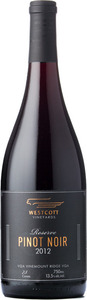 Westcott Reserve Pinot Noir 2012, VQA Vinemount Ridge Bottle