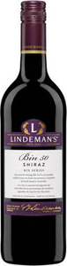 Lindemans Bin 50 Shiraz 2014, South Eastern Australia Bottle