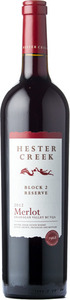 Hester Creek Block 2 Reserve Merlot 2012, BC VQA Okanagan Valley Bottle