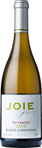 Joiefarm En Famille Reserve Chardonnay 2012, BC VQA Okanagan Valley Bottle