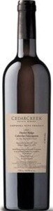 CedarCreek Amphora Wine Project Desert Ridge Cabernet Sauvignon 2013, Okanagan Valley, Bc Bottle