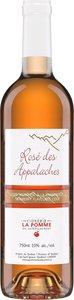 Cidrerie La Pomme Du St Laurent Rosé Des Appalaches, Cidre Aromatisé (Canneberge) Bottle