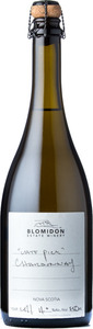 Blomidon Late Pick Sparkling Chardonnay 2011 Bottle