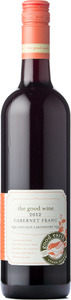 The Good Wine Cabernet Franc 2012, VQA Lincoln Lakeshore Bottle