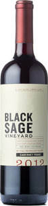 Black Sage Cabernet Franc 2012, VQA Okanagan Valley Bottle