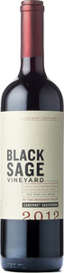Black Sage Cabernet Sauvignon 2012, BC VQA Okanagan Valley Bottle