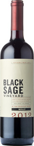 Black Sage Merlot 2012, VQA Bc Okanagan Valley Bottle