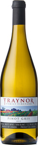 Traynor Family Vineyard Pinot Gris 2013, Niagara On The Lake Bottle