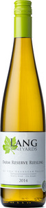 Lang Vineyards Farm Reserve Riesling 2012, Okanagan Valley Bottle