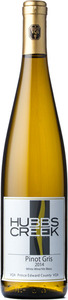 Hubbs Creek Pinot Gris 2013 Bottle