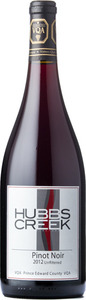 Hubbs Creek Pinot Noir Unfiltered 2012, VQA Prince Edward County Bottle