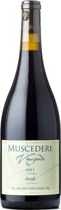 Muscedere Vineyards Syrah 2011, Lake Erie North Shore Bottle