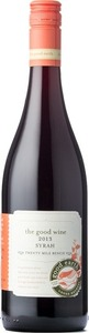 The Good Wine Syrah 2013, Twenty Mile Bench Bottle
