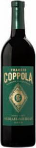 Francis Coppola Diamond Collection Green Label Syrah Shiraz 2012, California Bottle