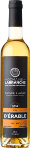 Domaine Labranche Maple Wine 2013, Quebec Bottle