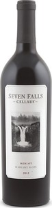 Seven Falls Merlot 2012, Wahluke Slope, Columbia Valley Bottle