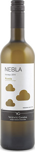 Vicente Gandía Nebla Verdejo 2014, Do Rueda Bottle