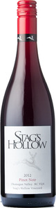 Stag's Hollow Winery Pinot Noir Stag's Hollow Vineyard 2012, BC VQA Okanagan Valley Bottle