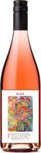 Mistaken Identity Vineyards Bliss Rosé 2014, Salt Spring Island Bottle
