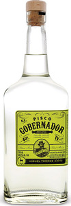 El Gobernador Pisco Bottle
