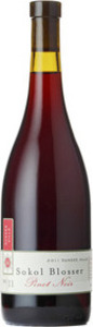 Sokol Blosser Pinot Noir 2011, Dundee Hills, Willamette Valley Bottle