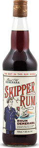 Skipper Rum Finest Old Demerara Navy Dark Rum, Guyana Bottle