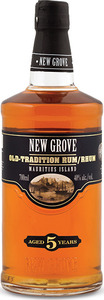 New Grove Old Tradition 5 Year Old Rum, Mauritius Islands Bottle