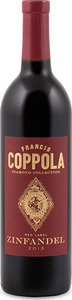 Francis Coppola Diamond Collection Red Label Zinfandel 2013, California Bottle