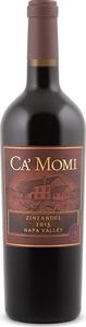 Ca' Momi Zinfandel 2013, Napa Valley Bottle