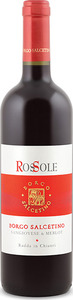 Borgo Salcetino Rossole 2012, Igt Rosso Toscana Bottle