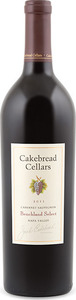 Cakebread Benchland Select Cabernet Sauvignon 2011, Napa Valley Bottle