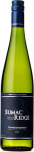 Sumac Ridge Private Reserve Gewürztraminer 2014, VQA Okanagan Valley Bottle