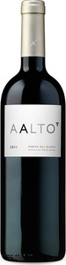 Aalto 2011, Do Ribera Del Duero Bottle