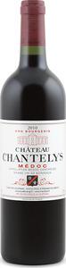 Château Chantelys 2010, Cru Bourgeois, Ac Médoc Bottle