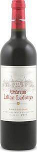 Château Lilian Ladouys 2011, Cru Bourgeois, Ac Saint Estèphe Bottle