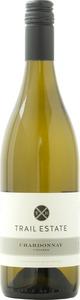 Trail Estate Chardonnay Unoaked 2014, VQA Lincoln Lakeshore Bottle