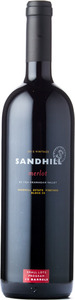 Sandhill Small Lots Merlot Sandhill Estate Vineyard Block C8 2012, Okanagan Valley Bottle