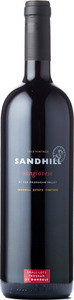Sandhill Small Lots Sangiovese Sandhill Estate Vineyard 2012, BC VQA Okanagan Valley Bottle