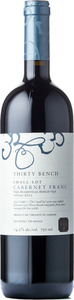 Thirty Bench Small Lot Cabernet Franc 2012, VQA Beamsville Bench Bottle