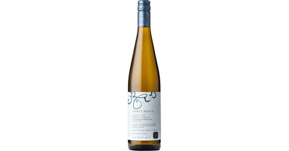 Thirty Bench Small Lot Pinot Gris 2013 Expert Wine